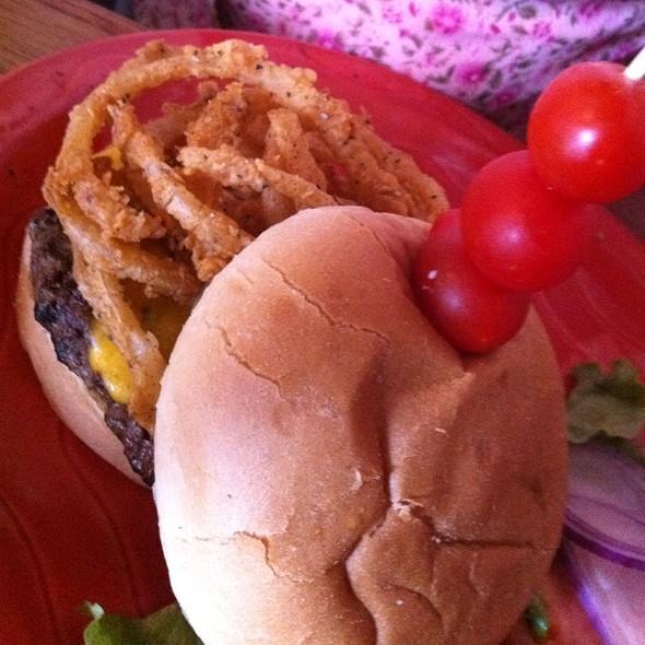 Chandler Burger - SanTan Brewing Co - Downtown Chandler BrewPub, Chandler, AZ