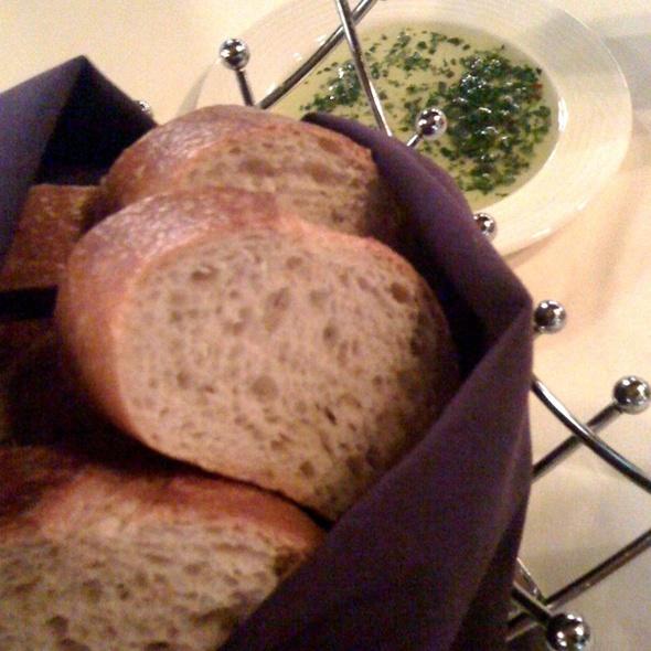Bread & Rosemary Olive Oil - Andiamo Italian Restaurant - Dearborn, Dearborn, MI