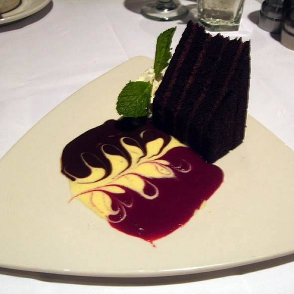 Chocolate Truffle Cake - Monterey Bay Fish Grotto - Mt. Washington, Pittsburgh, PA