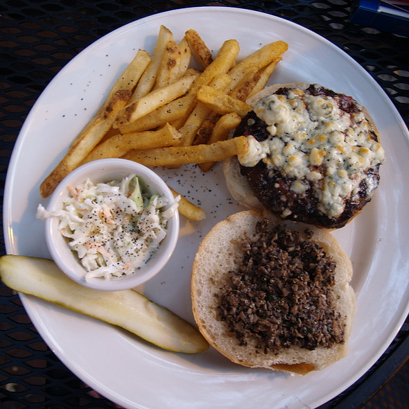 Blue Cheese Burger - Iron Hill Brewery - West Chester, West Chester, PA