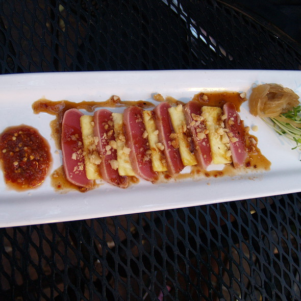 Ahi Tuna Tataki - Iron Hill Brewery - West Chester, West Chester, PA