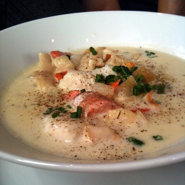Westcoast Seafood Chowder - The Beach House, West Vancouver, BC