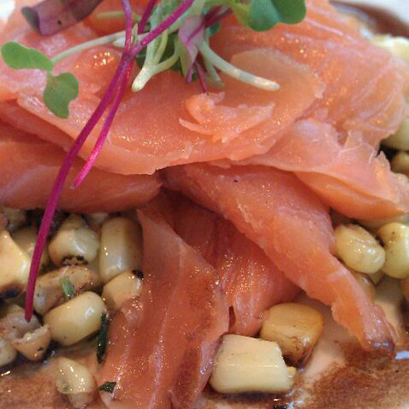 Smoked Salmon With Farro & Roasted Corn - the C restaurant + bar, Monterey, CA