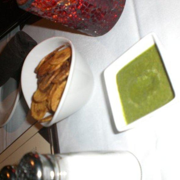 Plantain Chips - Mango Peruvian Restaurant, St. Louis, MO