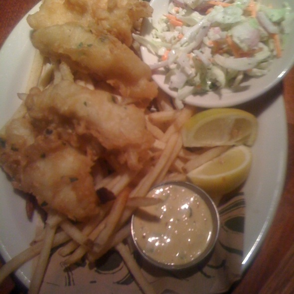 Fish and Chips - Rock Bottom Brewery Restaurant - Seattle, Seattle, WA