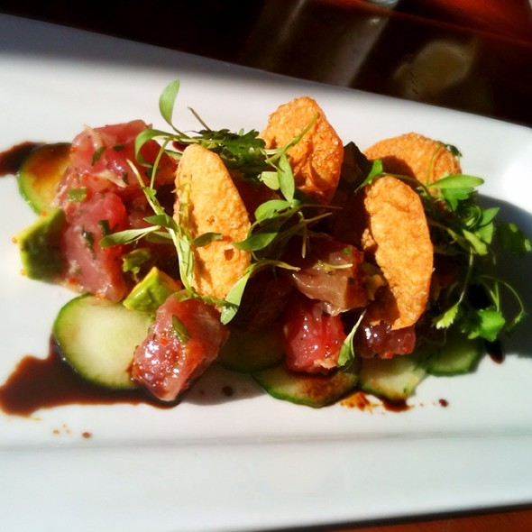 Ahi Tuna Tartare - Cusp Dining & Drinks, San Diego, CA