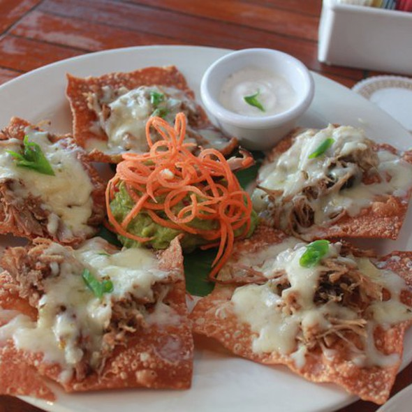 Kalua Pig Nachos - North Shore Kula Grille (fka Kula Grille at Turtle Bay), North Shore, HI