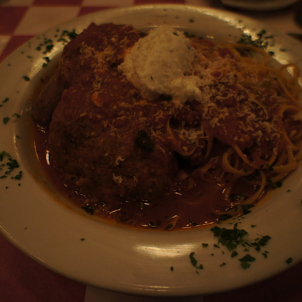 Spaghetti and Meatballs - Randazzo's Little Italy, Miami, FL