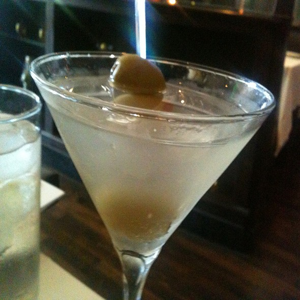 Bombay Sapphire Martini  - The Grill on the Alley - Westlake Village, Westlake Village, CA