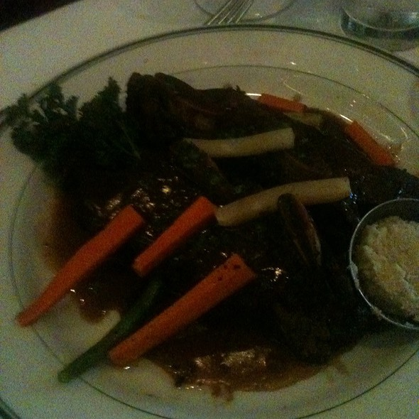 Braised Short Ribs - The Grill on the Alley - Westlake Village, Westlake Village, CA