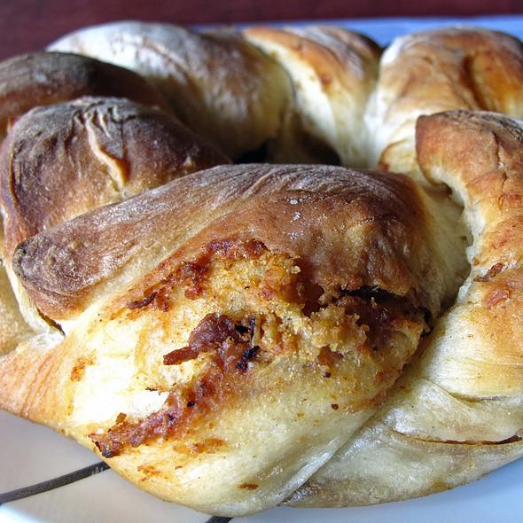 Italian Lard Bread - Ornella Trattoria Italiana, Astoria, NY
