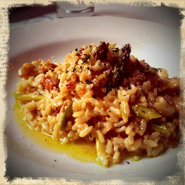 Chicken Risotto - Gilda's Italian Restaurant and Lounge, Portland, OR