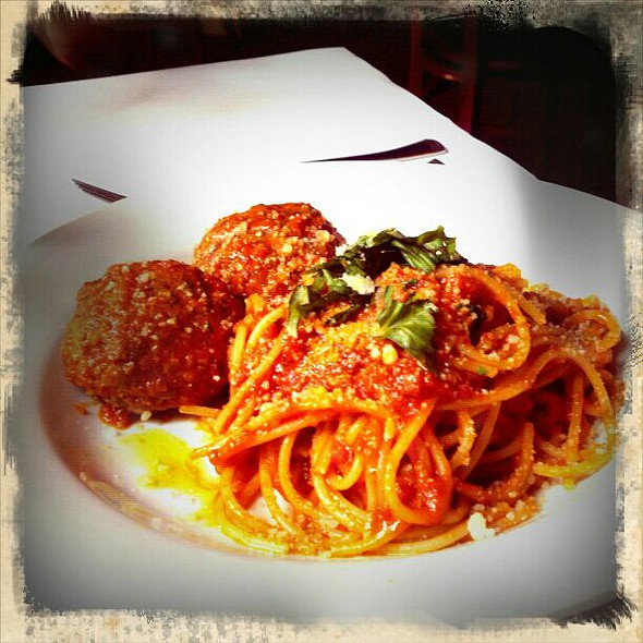 Spaghetti and Meatballs - Gilda's Italian Restaurant and Lounge, Portland, OR