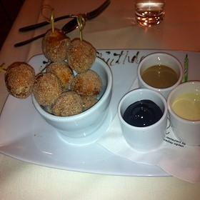 Sugared Donut Holes  - Root 246 at Hotel Corque, Solvang, CA
