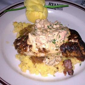 Blackened Red Fish - Ryan's Restaurant, Winston-Salem, NC