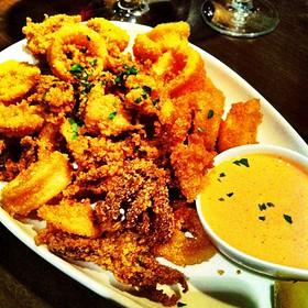 Fried Calamari With Tamarillo Sauce - Panzano, Denver, CO
