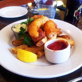 Fish and Chips - The Irish House, New Orleans, LA