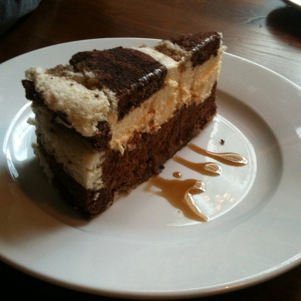 White And Dark Chocolate Truffle Cake - The Vine, London