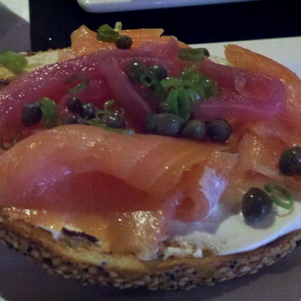 Bagel with Lox - Touch Supper Club, Cleveland, OH