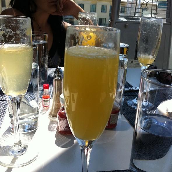 Bottomless Mimosa - Ocean and Vine at Loews Santa Monica Beach Hotel, Santa Monica, CA