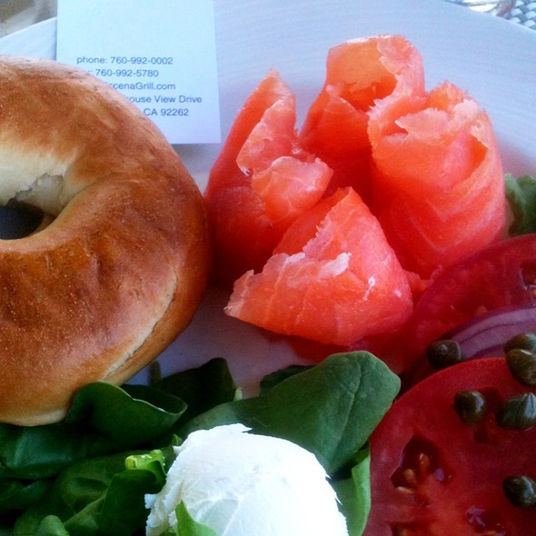Bagel And Lox - Escena Lounge & Grill, Palm Springs, CA