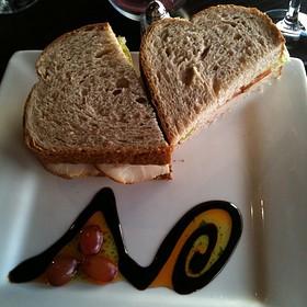 Turkey Club Sandwich - The Vineyard Wine Bar, Havre De Grace, MD