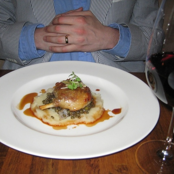 Duck Confit - Dune, Nantucket