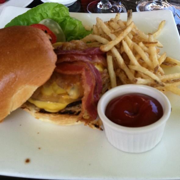 Grilled Sirloin Burger - Bernards Inn, Bernardsville, NJ