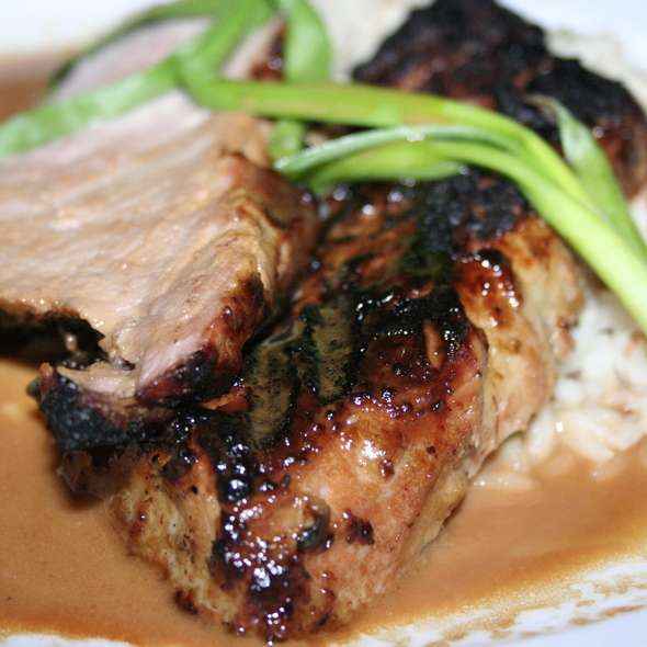 Ginger-Sesame Pork Tenderloin - Willow, Pittsburgh, PA
