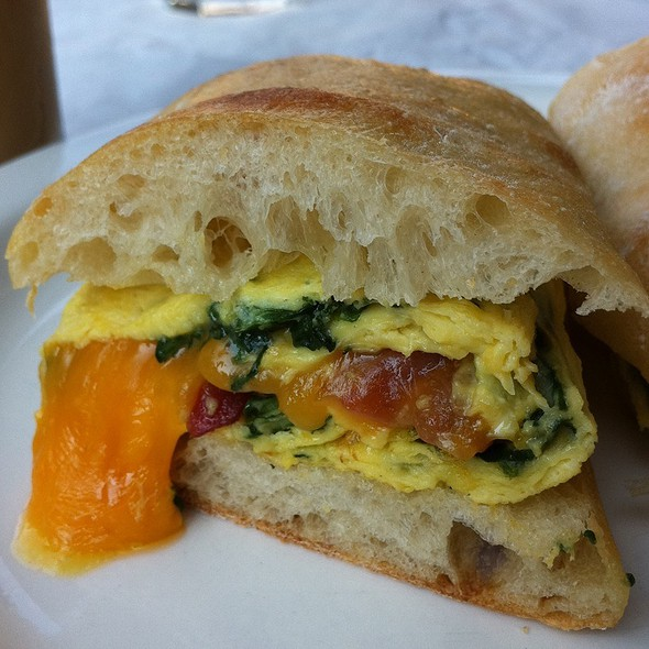 Bacon and Egg Sandwich - Petite Abeille - 20th Street, New York, NY