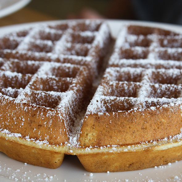 Belgian Waffle - Plate Earthy California Cuisine, Malibu, CA