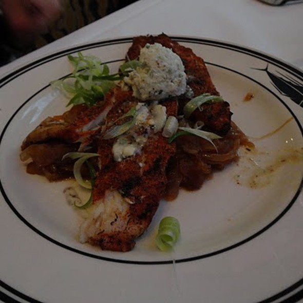 """Black And Bleu"" Wild Costa Rican Mahi MAHI - Oceanaire Seafood Room - Houston, Houston, TX"