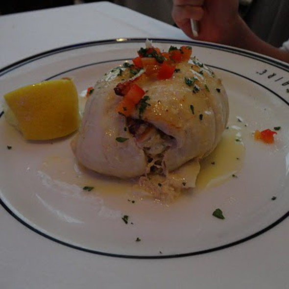 Stuffed Alaskan Sole Filet - Oceanaire Seafood Room - Houston, Houston, TX