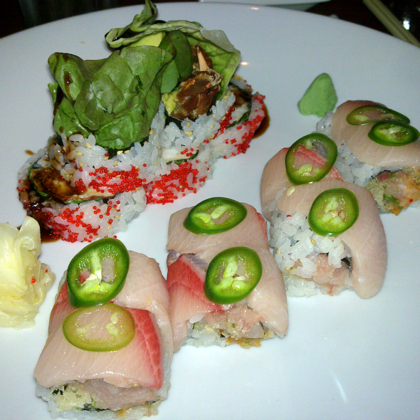 Jalapeño Yellowtail Roll - Fusha East, New York, NY