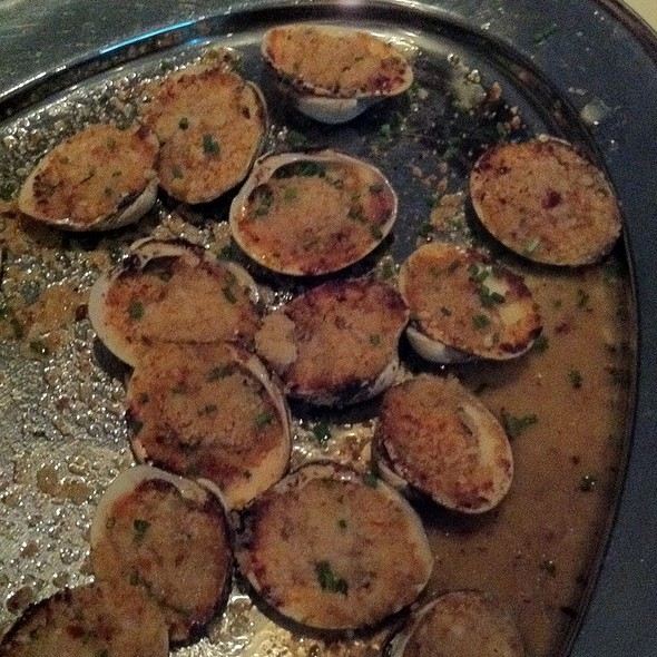 Baked Clams - Mac's Steakhouse, Huntington, NY
