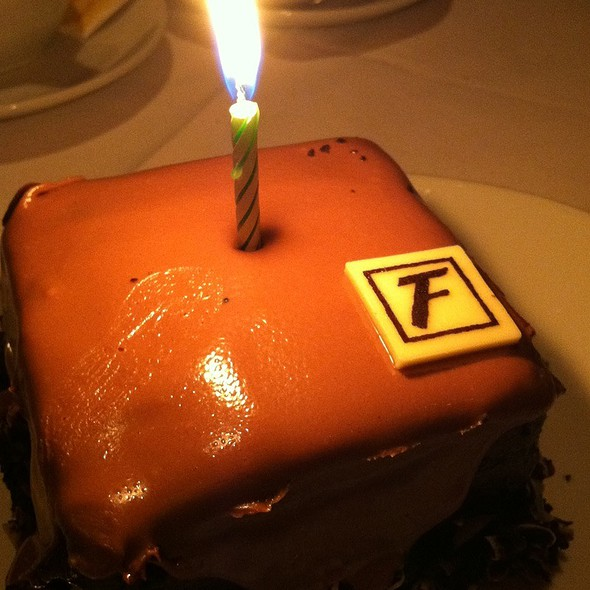 Chocolate Birthday Cake - Fleming's Steakhouse - Marlton, Marlton, NJ