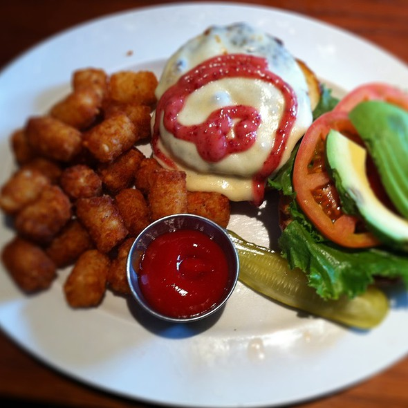 The Gobbler With Tator Tots - The Boundary Tavern & Grille, Chicago, IL