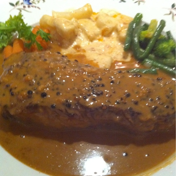 Steak Au Poivre - Iron Gate, Belmont, CA