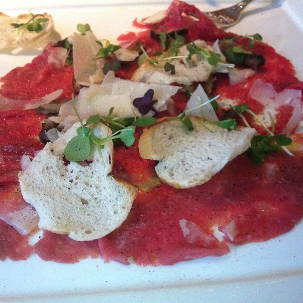 Beef Carpaccio - The Grill Room at the Windsor Court Hotel, New Orleans, LA