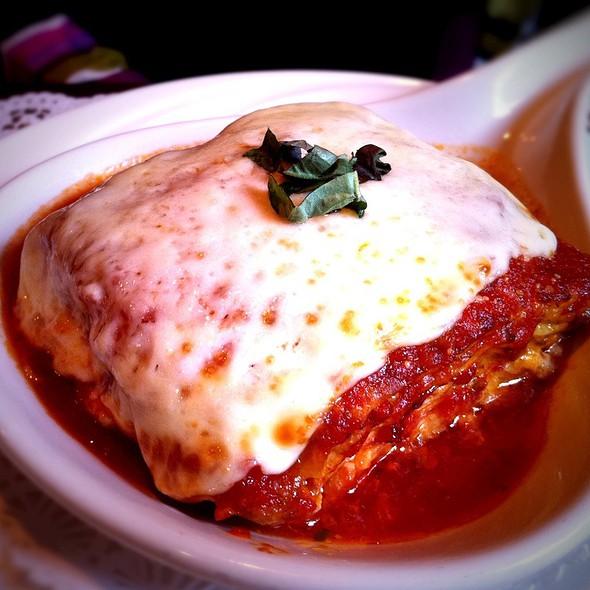 Lasagna alla Bolognese - Filomena Ristorante, Washington, DC