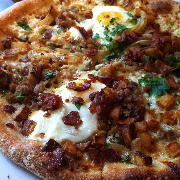 Country Breakfast Pizza - Rustico - Ballston, Arlington, VA