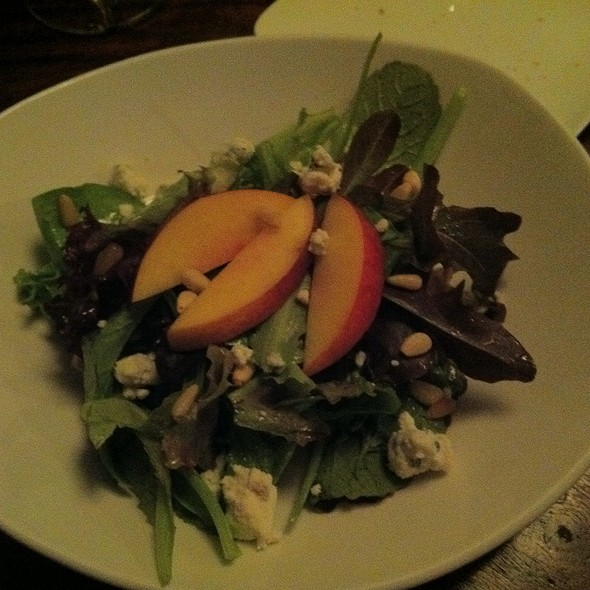 Nectarine Salad, Blue Cheese, Pine Nuts - JoLe, Calistoga, CA