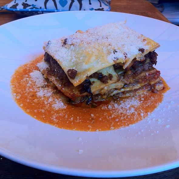 Beef Lasagna - Trattoria Il Panino, Boston, MA