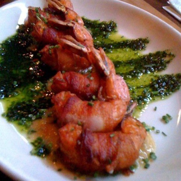 Bacon-Wrapped Gulf Shrimp - Peso's, Seattle, WA