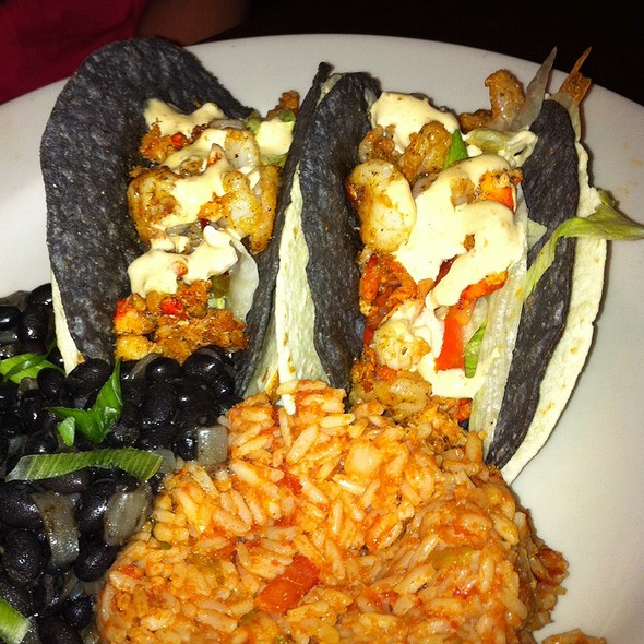 Shrimp And Lobster Tacos - Rock Bottom Brewery Restaurant - Cincinnati, Cincinnati, OH