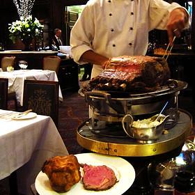 Roast Scottish Beef - Simpson's In The Strand, London