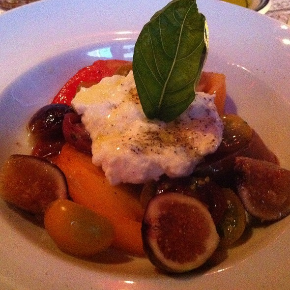 Burrata With Heirloom Tomatoes - Acqua Al 2, Washington, DC