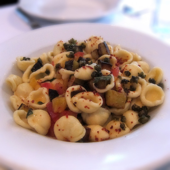 Orecchiette with Roasted Egg - Zuni Cafe, San Francisco, CA
