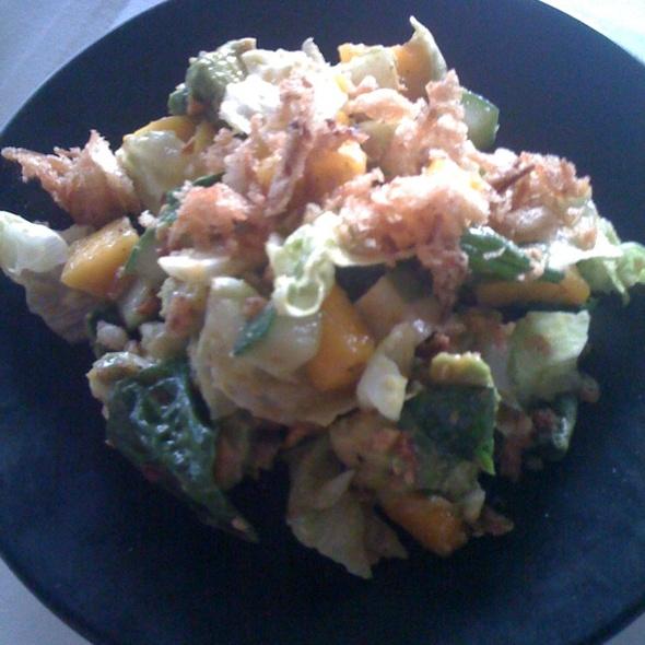Papaya Avocado Chop Salad - SOBA Lounge, Pittsburgh, PA