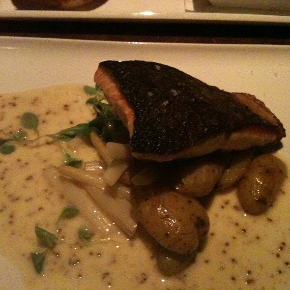 Crispy Salmon - Ocean 235, Easton, PA
